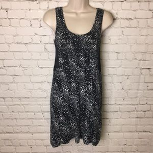 Silence and Noise Mesh Pattern Dress